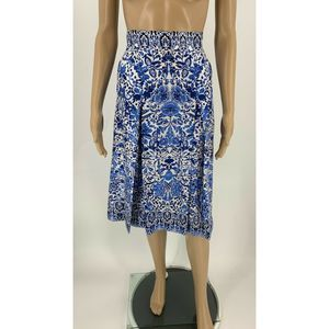 Brooks Brothers Skirt Pleated A-line Silk Size 10
